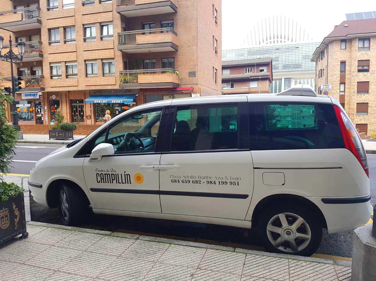 Transporte: Servicios de Centro de Día Campillín