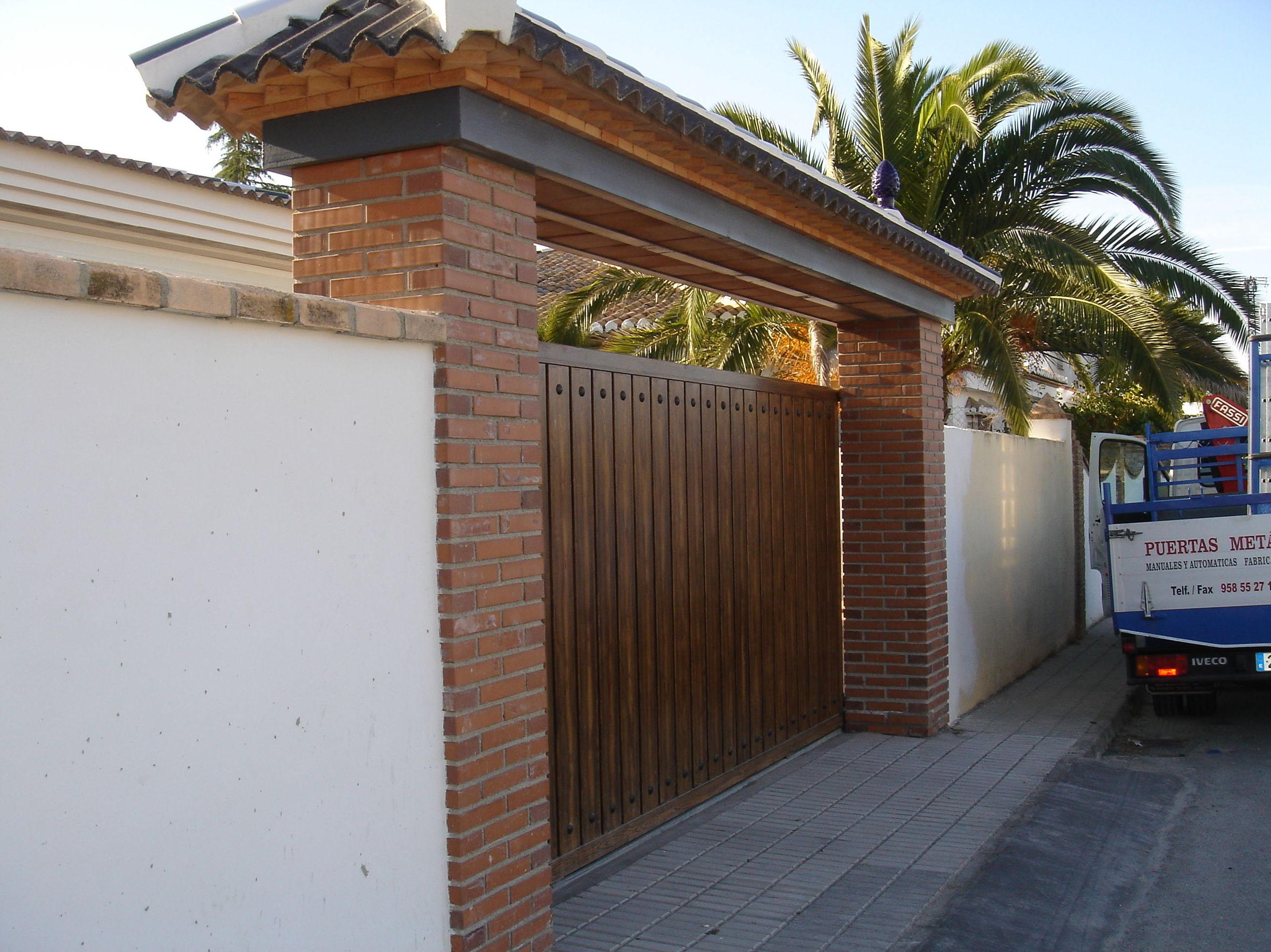 Puertas correderas automáticas en Granada