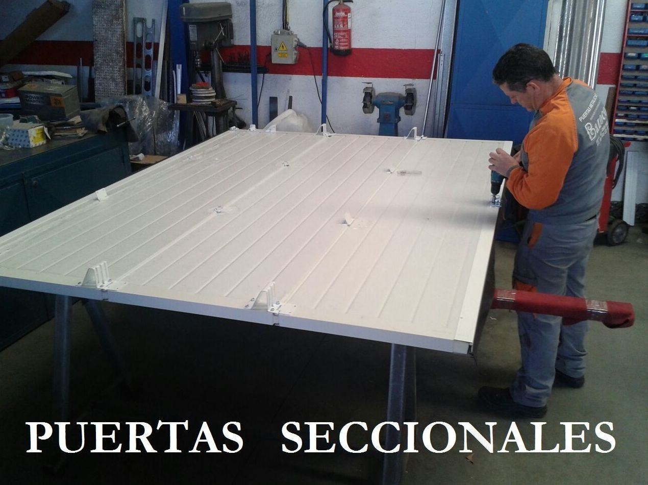Fabricante de puertas seccionales de garaje en Granada