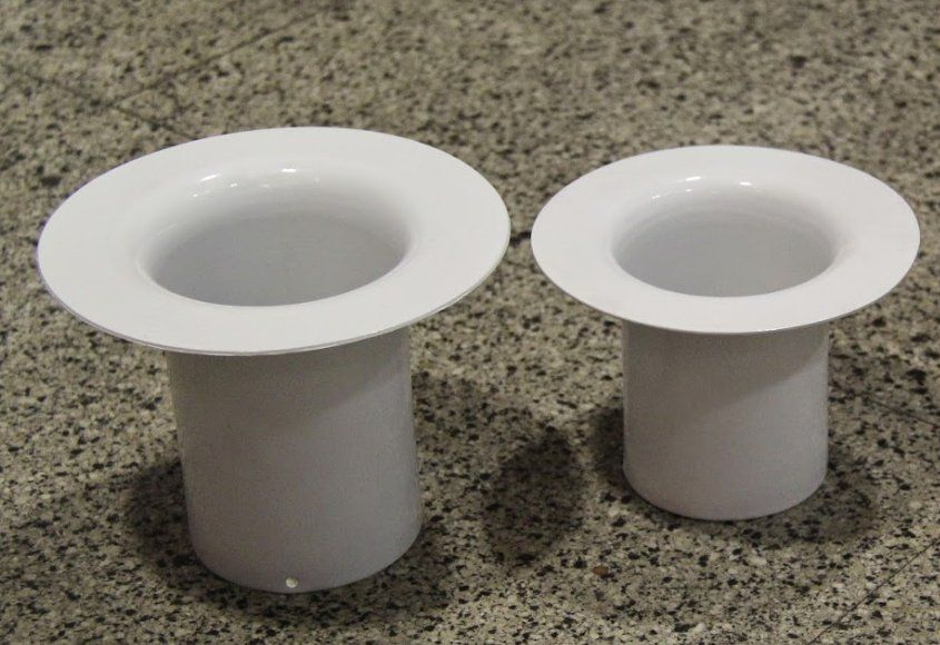 Embocaduras rectas para bajantes de tubos: Servicios de Talleres Mobe