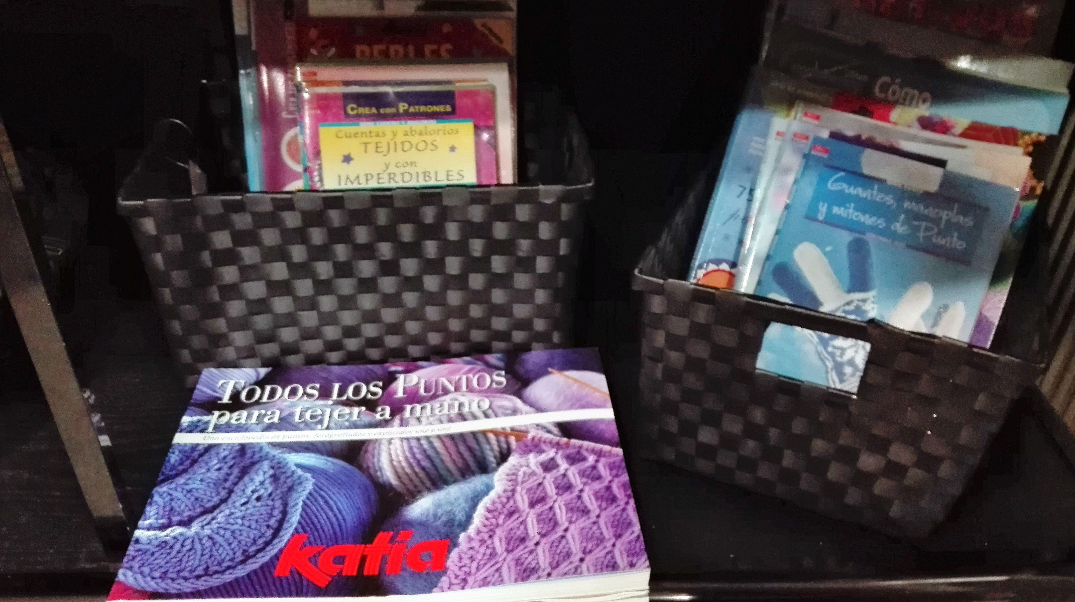 Libros para tejer a mano