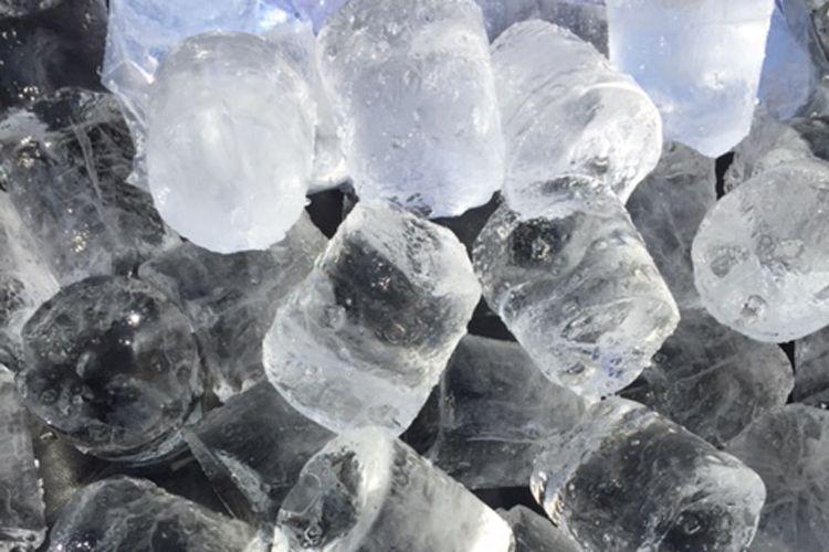 Fabricación de hielo en Barcelona