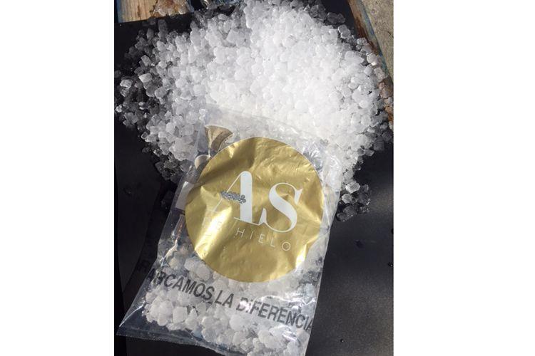 Distribución de hielo para empresas de catering