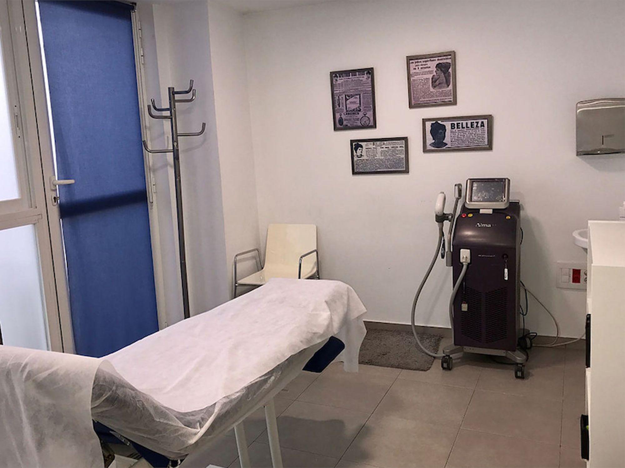 Clínica de depilación láser en Castellón