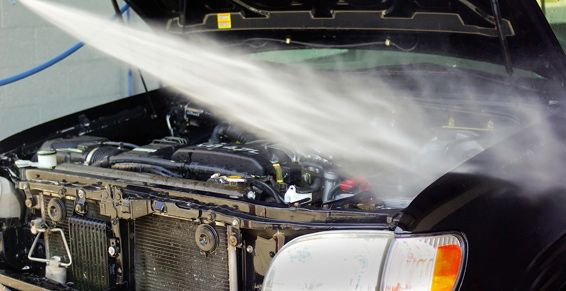 Lavado de motor a vapor: Servicios de Ecolavado a Vapor