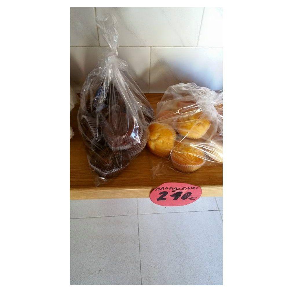 Magdalenas: Productos de Panadería Galván