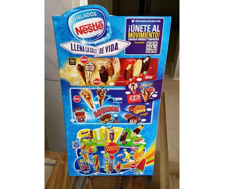 Gran surtido de helados