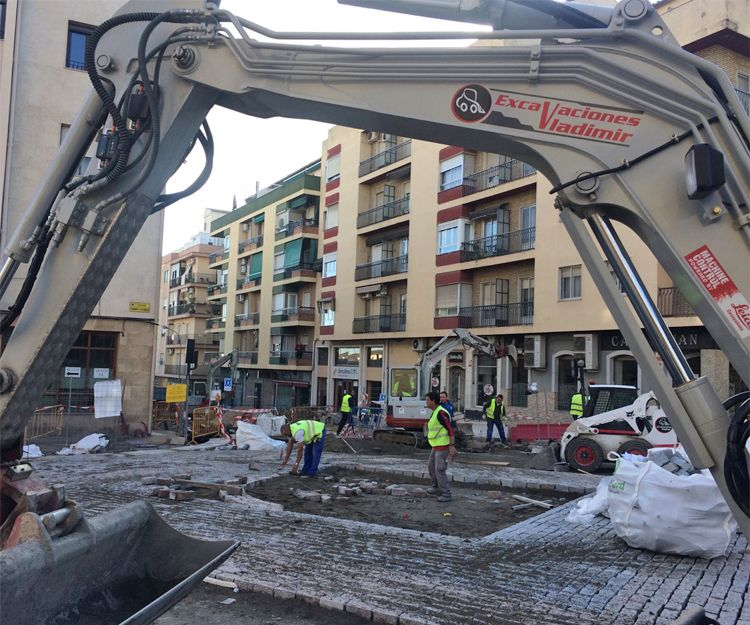 Excavaciones en Granada