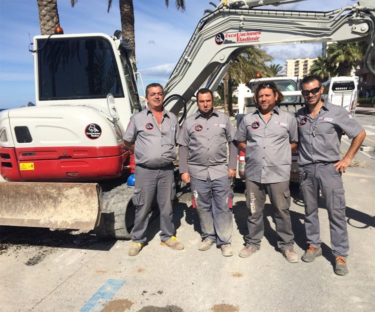 Empresa de excavaciones en Granada