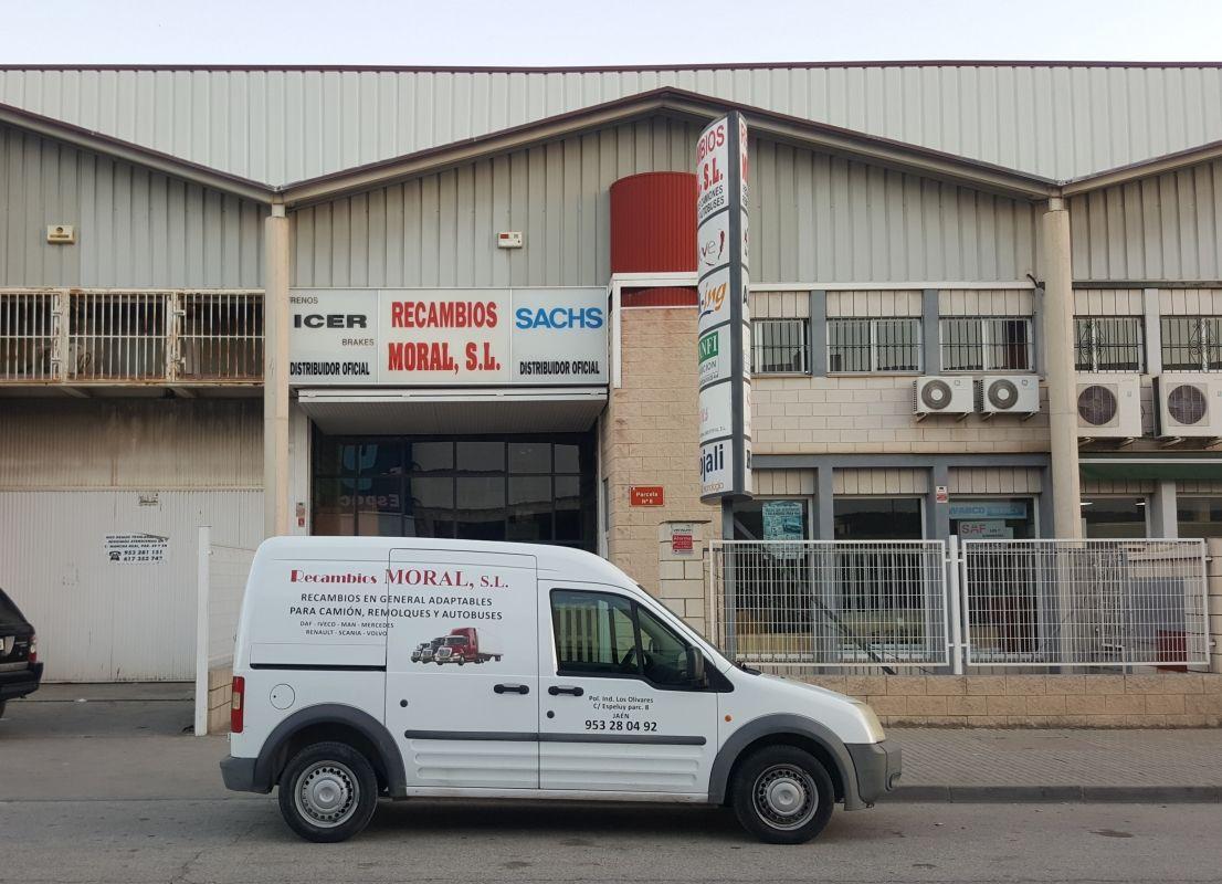 Recambios para vehículos industriales en Jaén