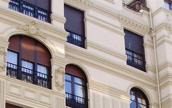 Obras de restauración de fachadas