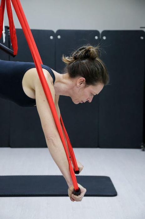 Pilates aéreo en Pilates & Body Controlled Training