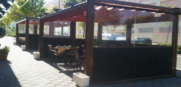 Especialistas en pérgolas para la hostelería en Fuenlabrada