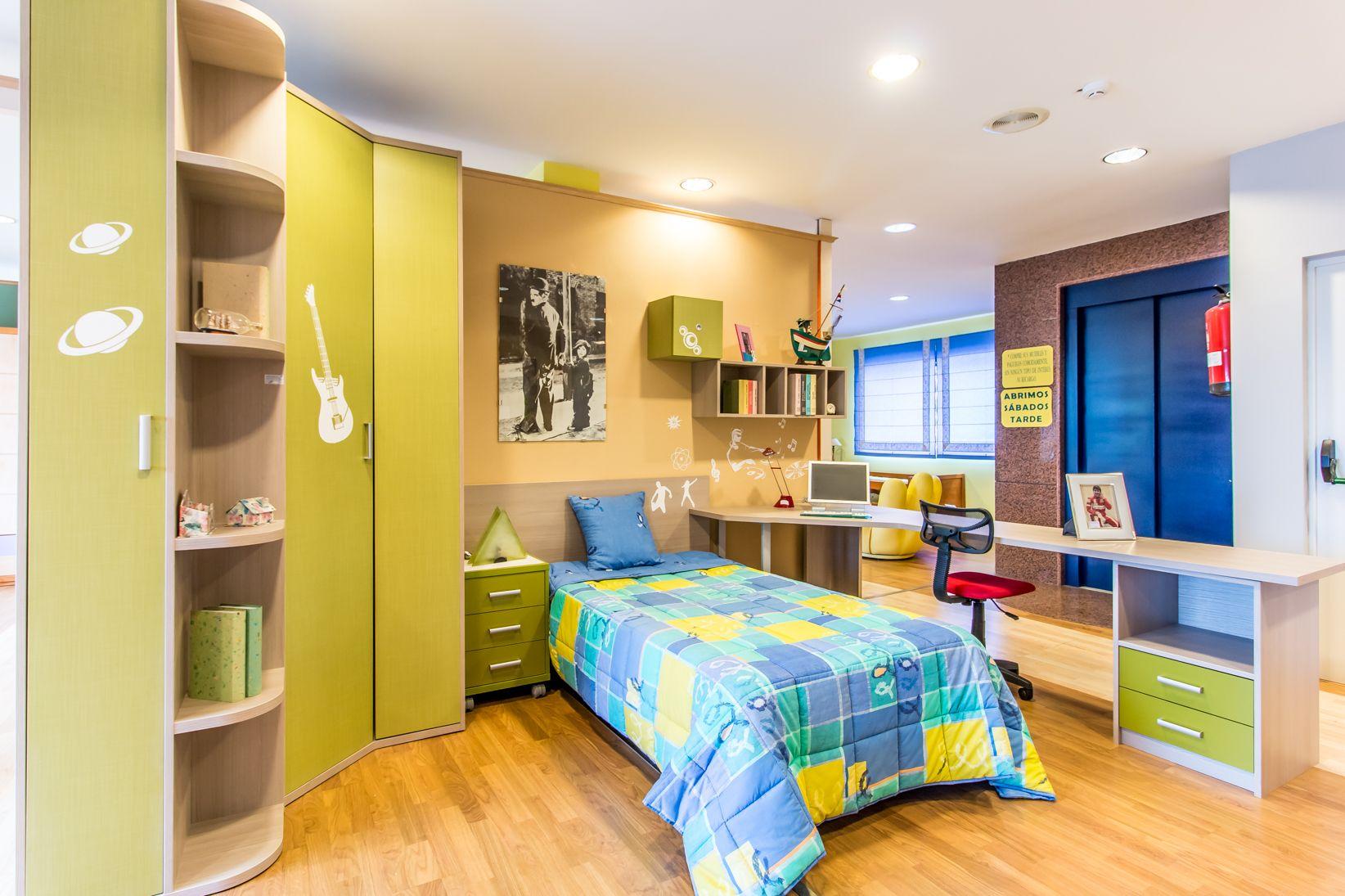 Dormitorios juveniles en Muebles Vilu