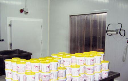 Zona de elaboración de las tripas naturales para embutidos