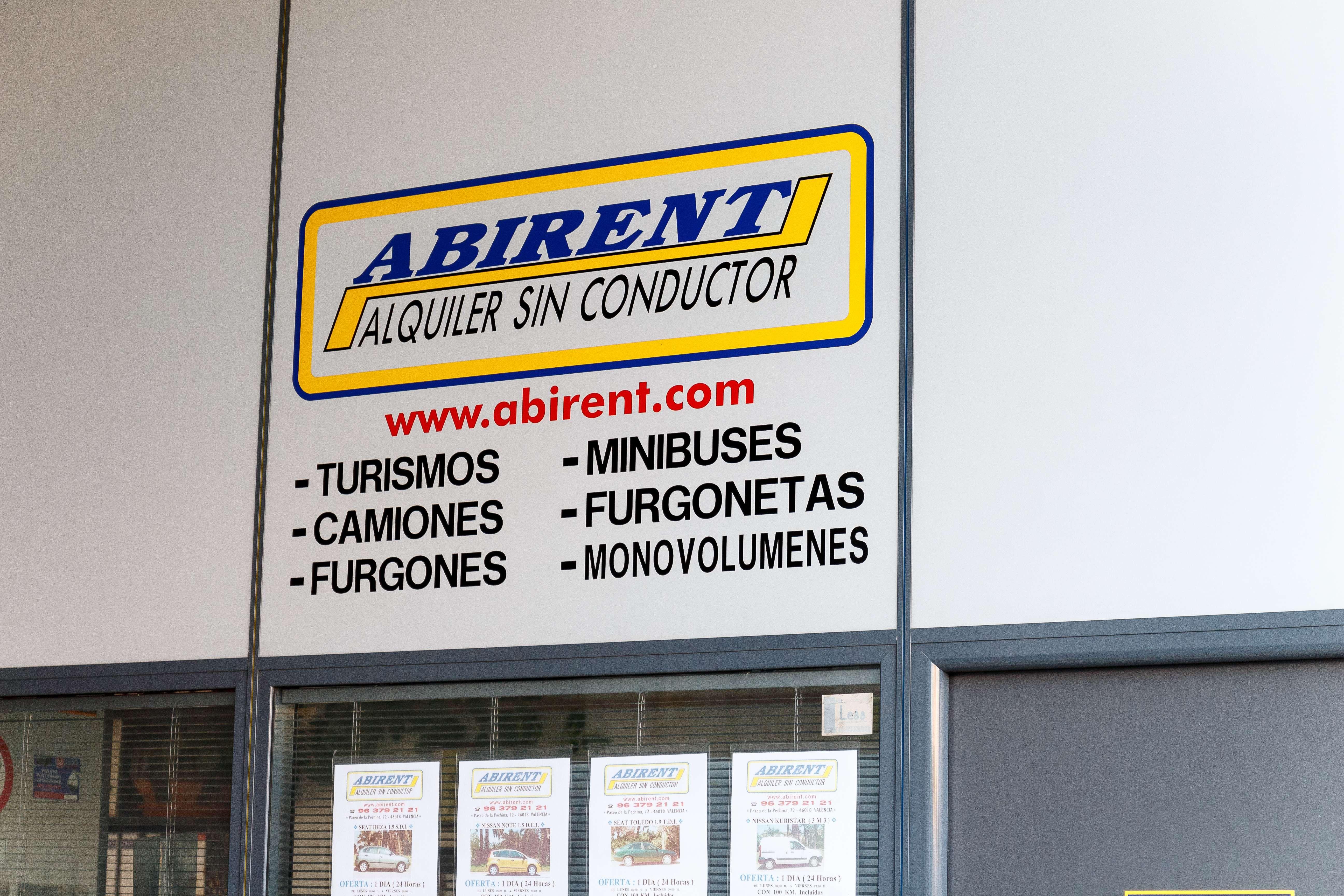 Alquiler de vehículos sin conductor en Valencia