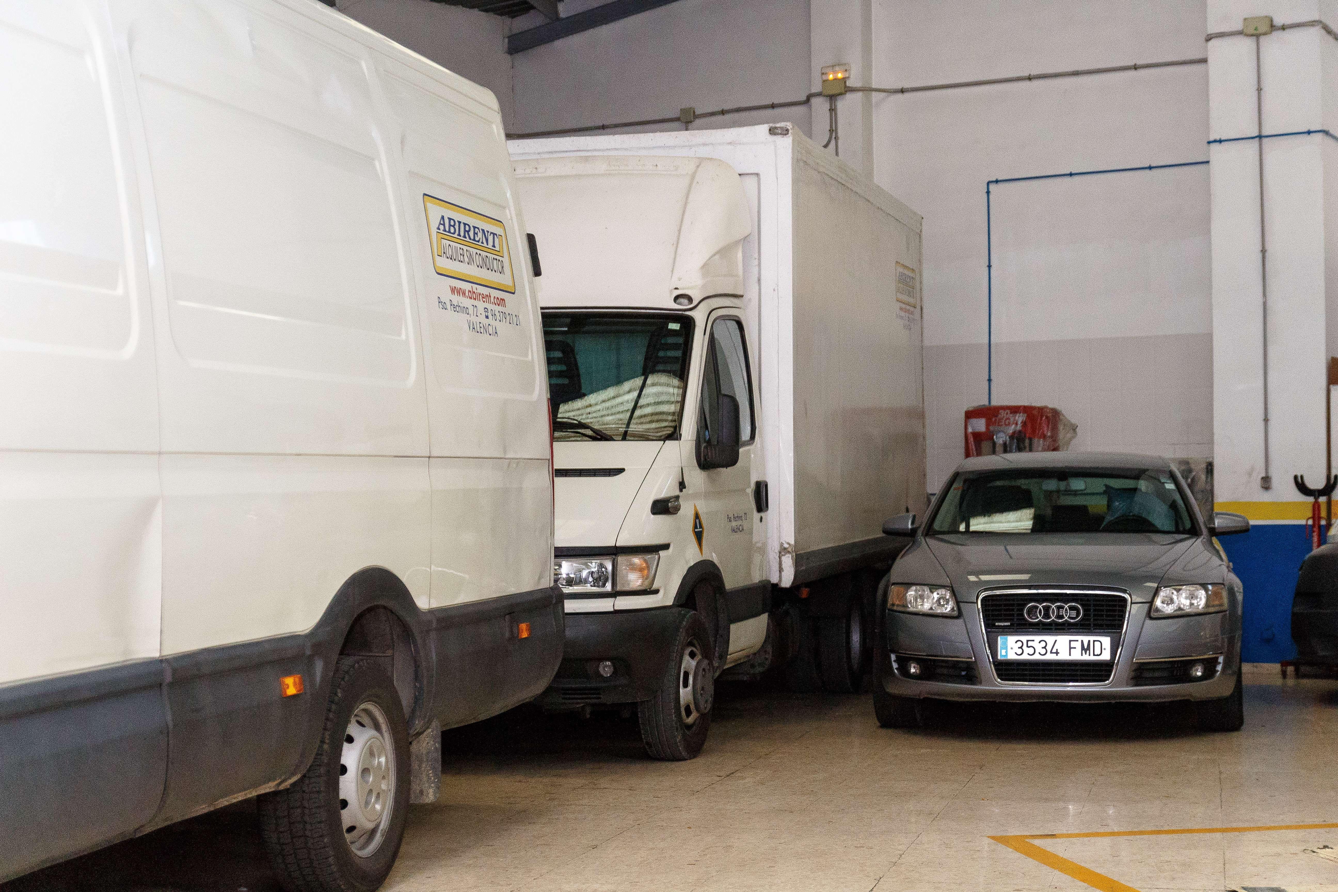 Alquiler de camiones en Valencia