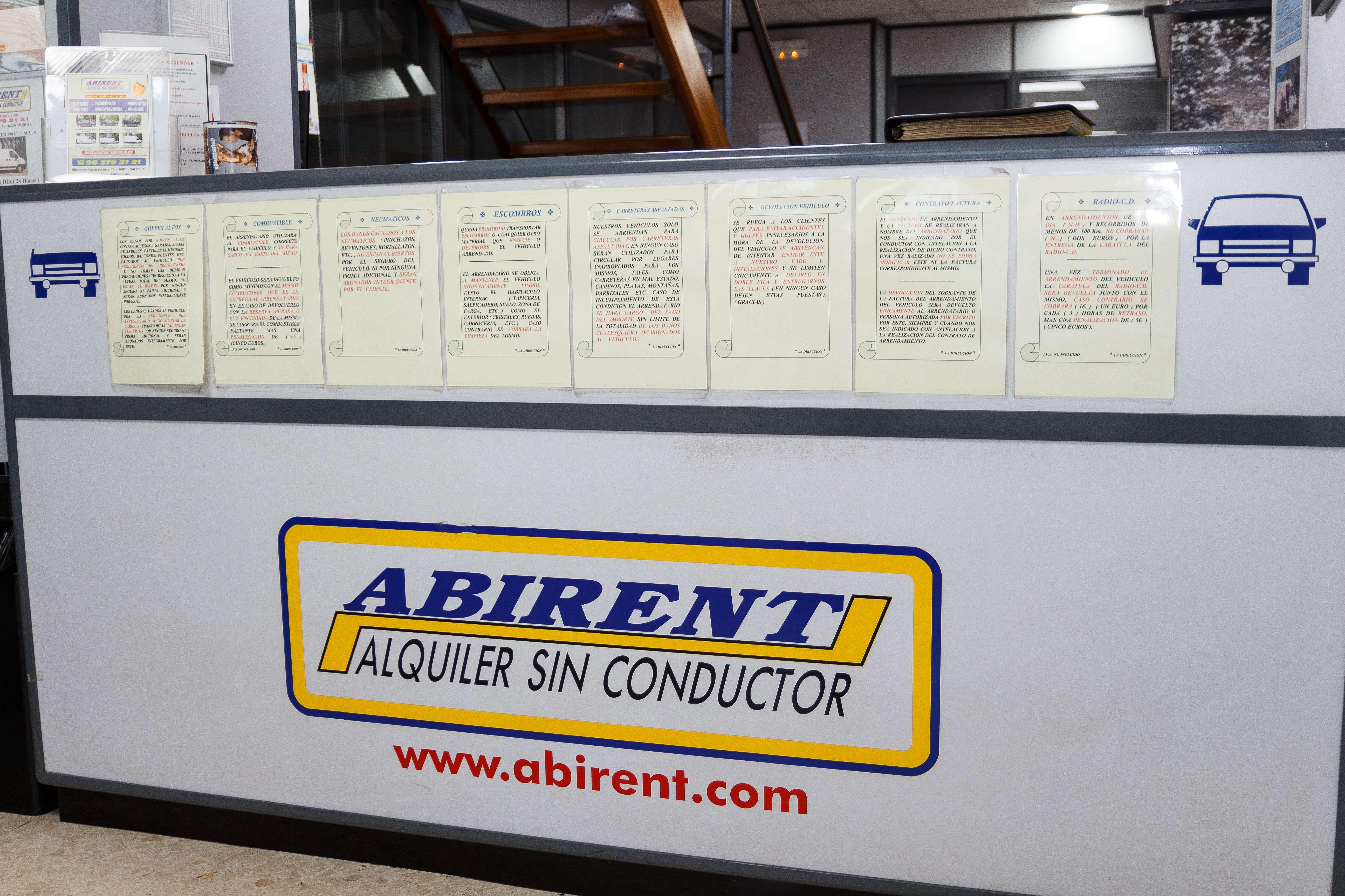 Alquiler de microbuses en Valencia