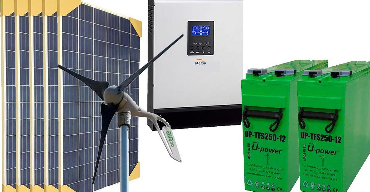 Precios de kit fotovoltaica de ControlWatio
