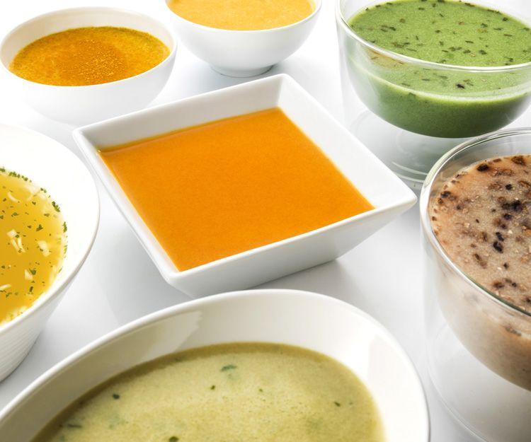 Sopas y cremas del método PNK