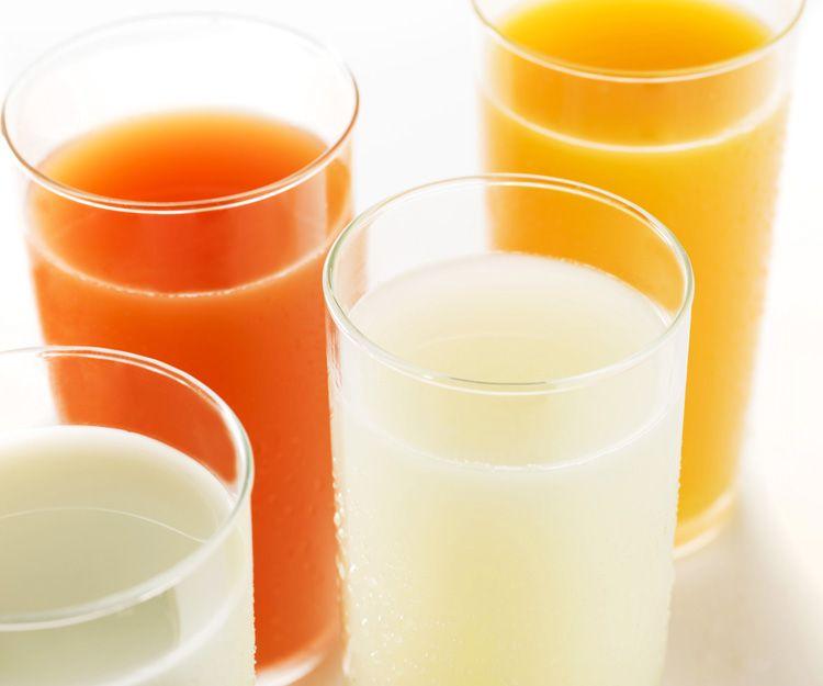 Bebidas frías del método PNK