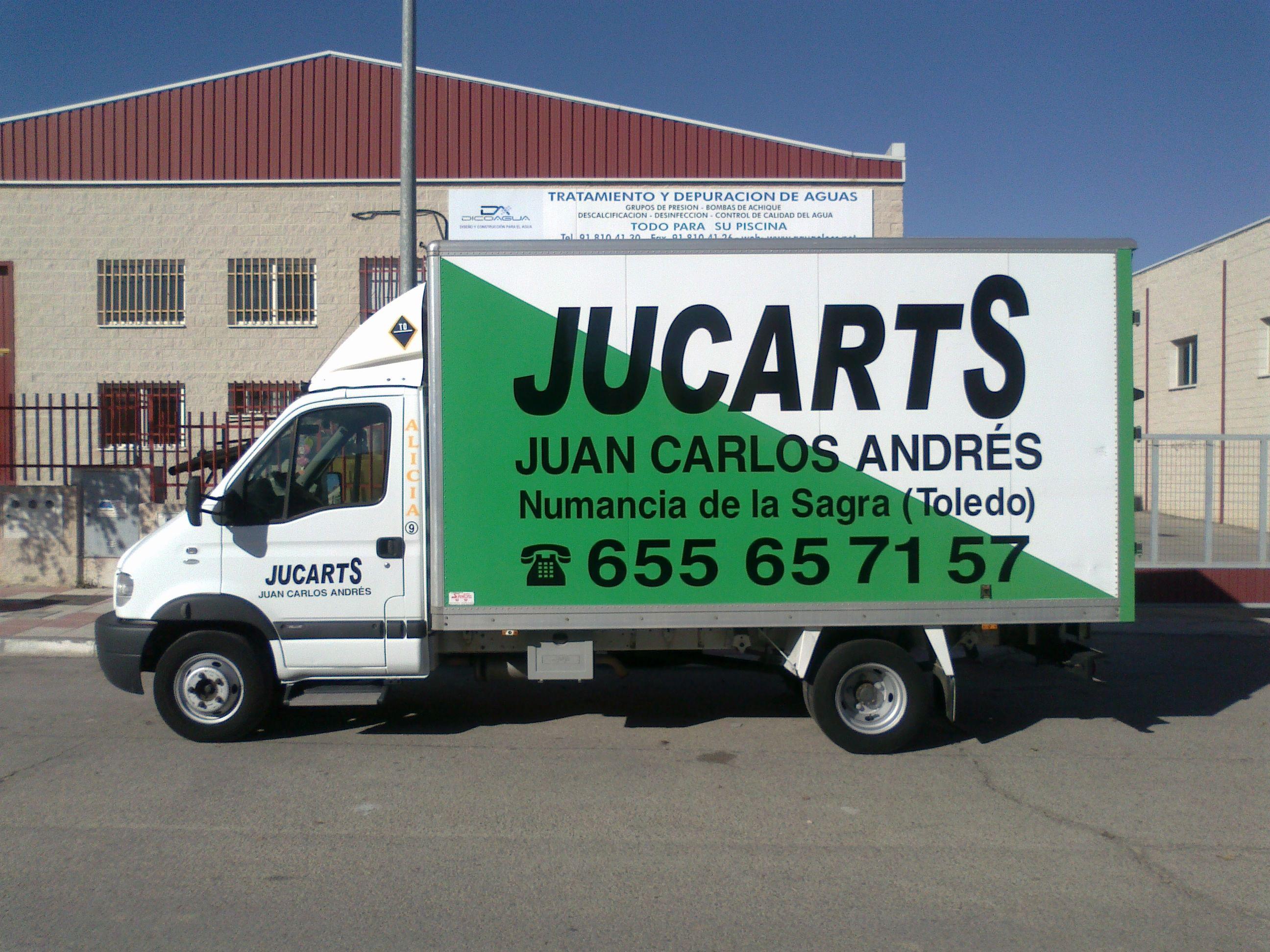 Foto 9 de Transporte por carretera en Yuncos | JUCARTS DISTRIBUCION Y LOGISTICA 2002 S.L