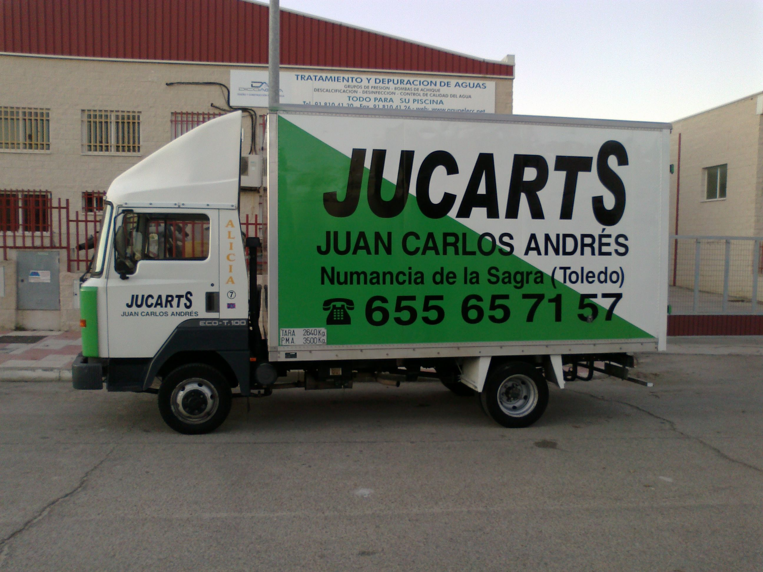 Picture 6 of Transporte por carretera in Yuncos | JUCARTS DISTRIBUCION Y LOGISTICA 2002 S.L