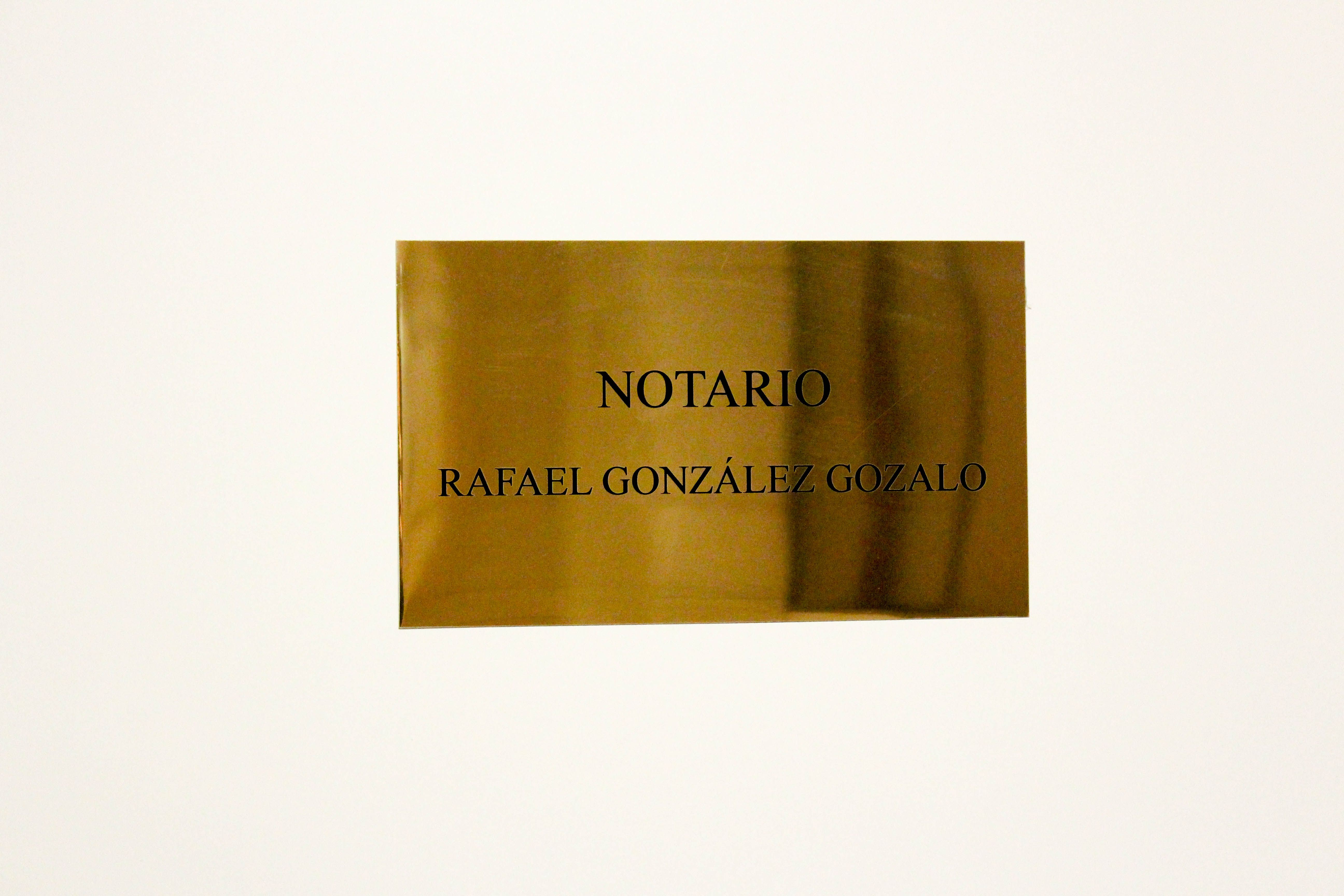 Foto 3 de Notarías en Madrid | Notaría Rafael González Gozalo