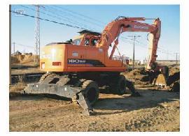 Foto 1 de Excavaciones en Urbanización las Hervencias Bajas | Excavaciones y Derribos Juanma Ramos
