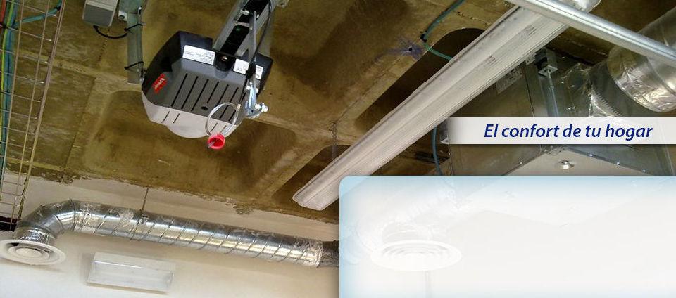 Instalaciones de aerotermia: Servicios y productos de Clitecsa Andalucía