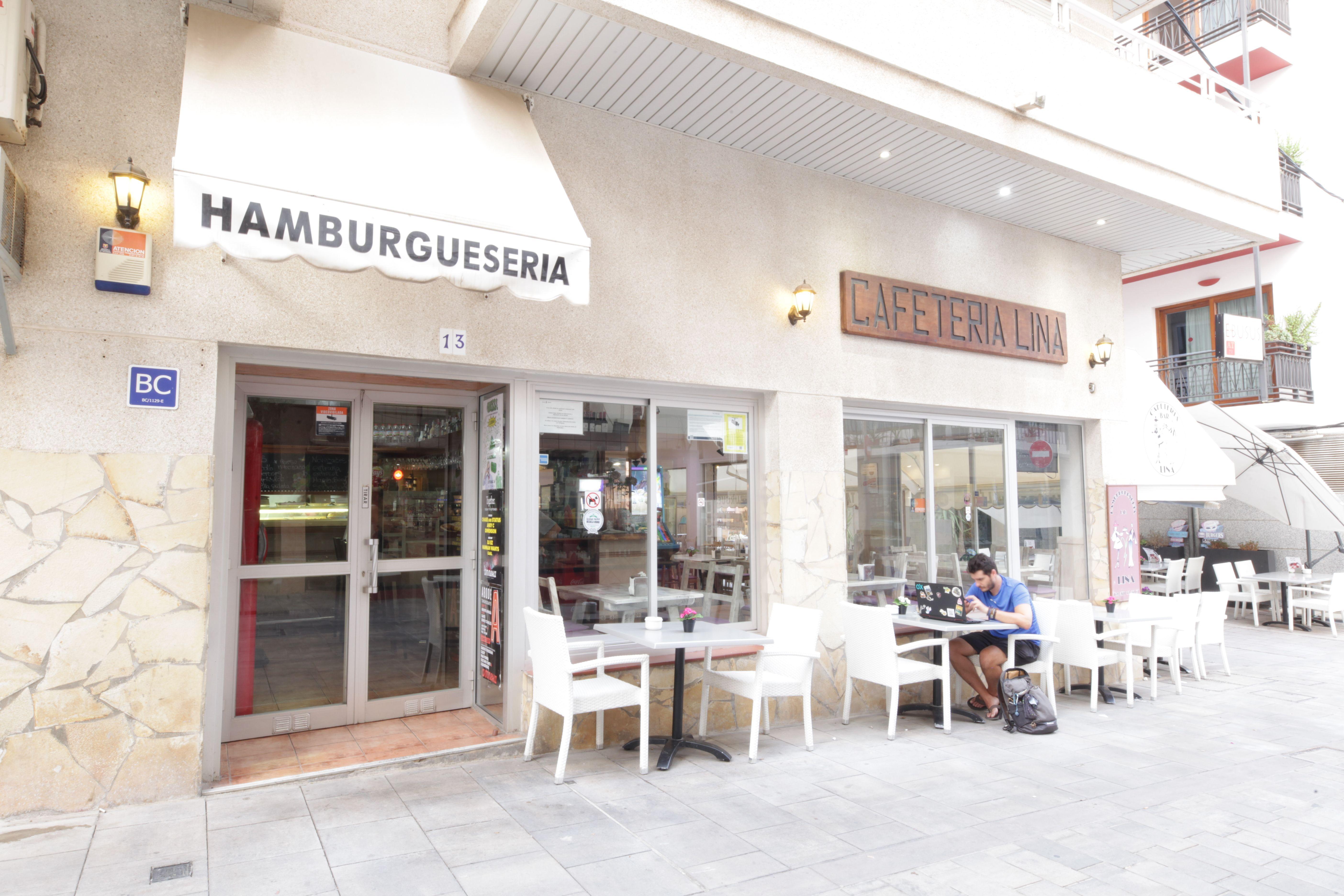 Terreza Hamburguesería Lina