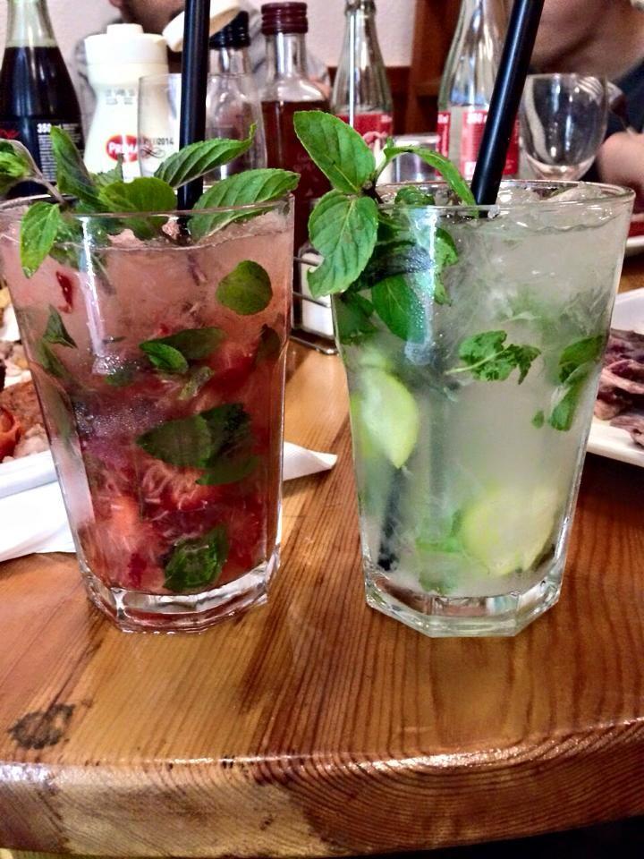 Bebidas: Menú de Hamburguesería Lina