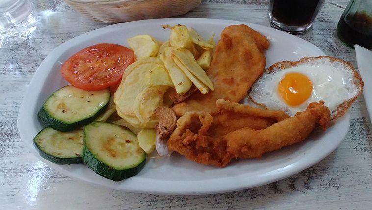 Platos combinados: Menú de Hamburguesería Lina