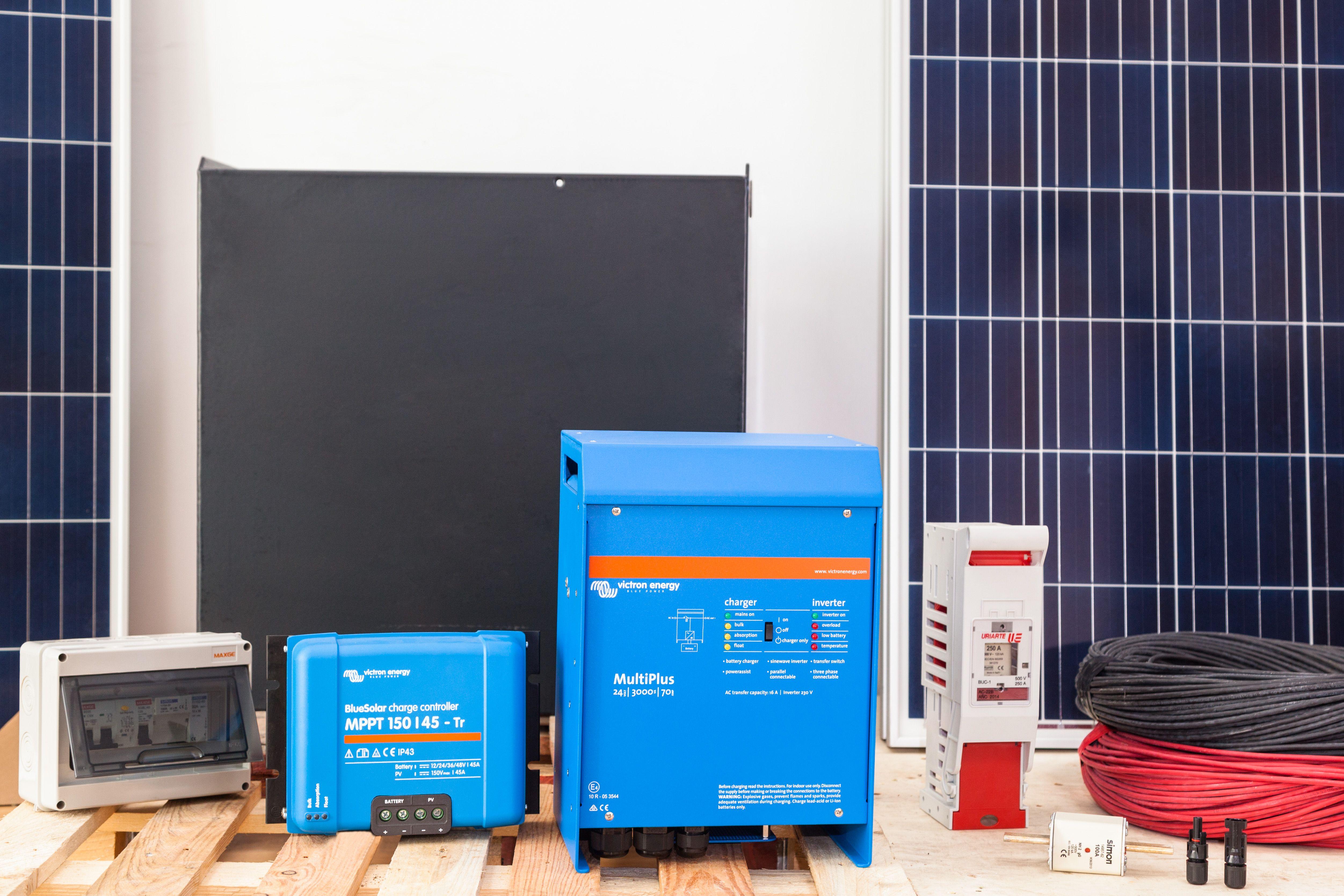 Equipos de energías renovables