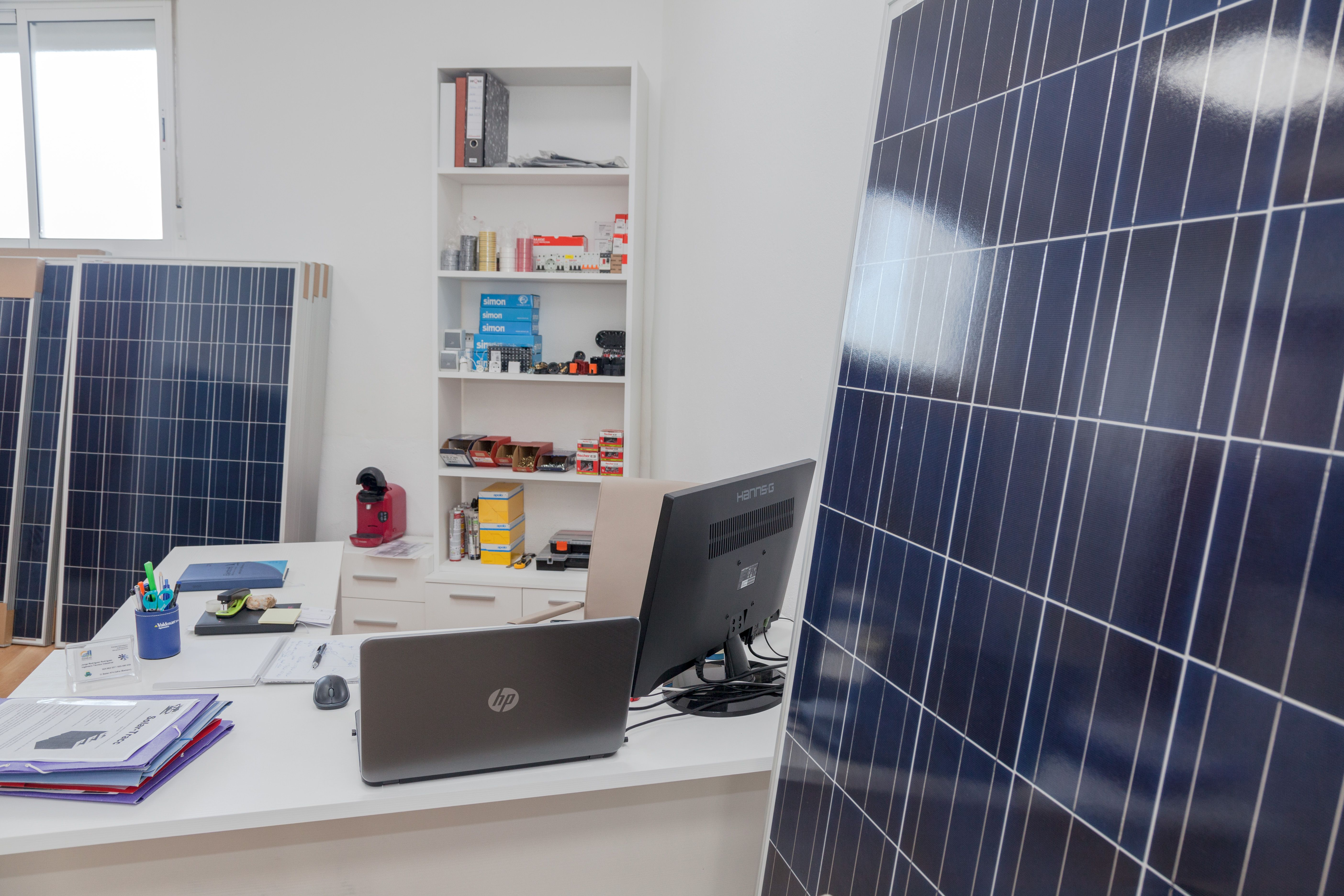 Placas solares en Zafra
