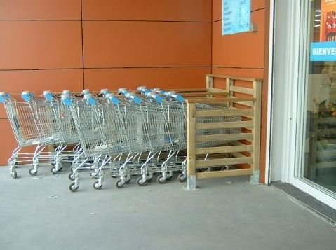 Muebles para carros de compra