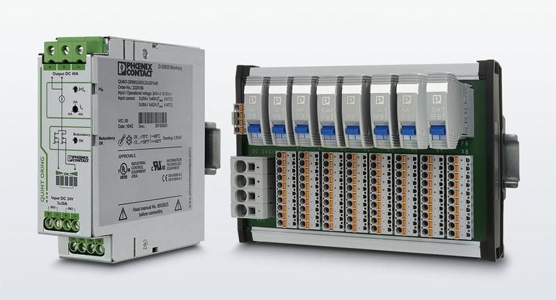 Paneles de interruptores de protección de aparatos