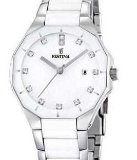 Reloj FESTINA Ceramica Blanca