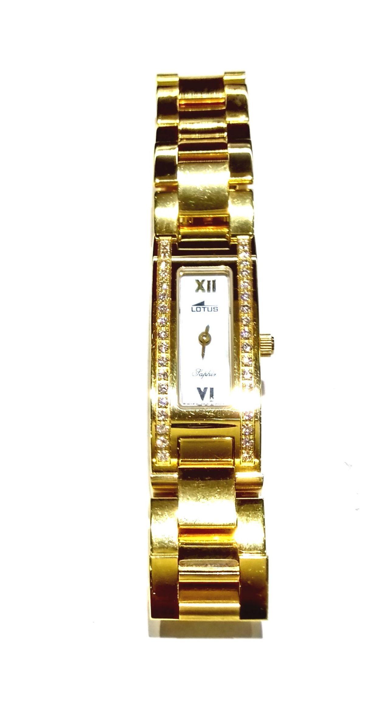 Joyeria en Bilbao, Reloj Lotus Oro