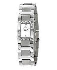 Reloj Jaguar Acero y Diamantes