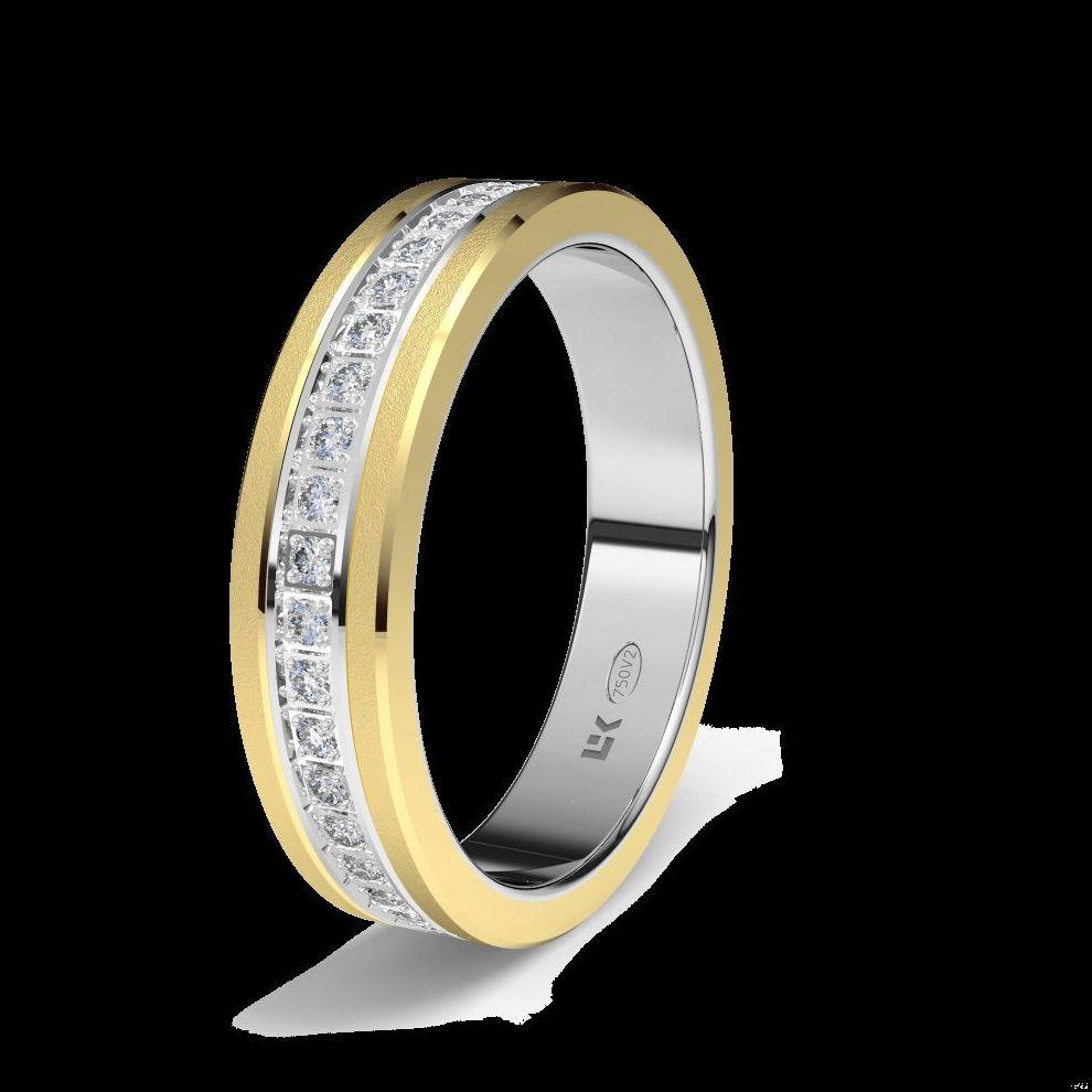 Alianza Pedida, Boda, Oro, Diamantes