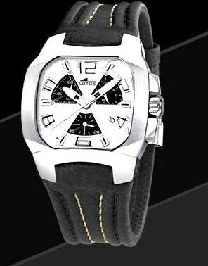 LOTUS Code Reloj Hombre Correa