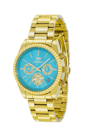 Reloj Marea Dorado