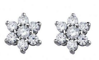 Pendientes Diamantes Estrella