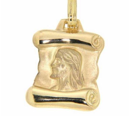 Chapa Cristo Oro