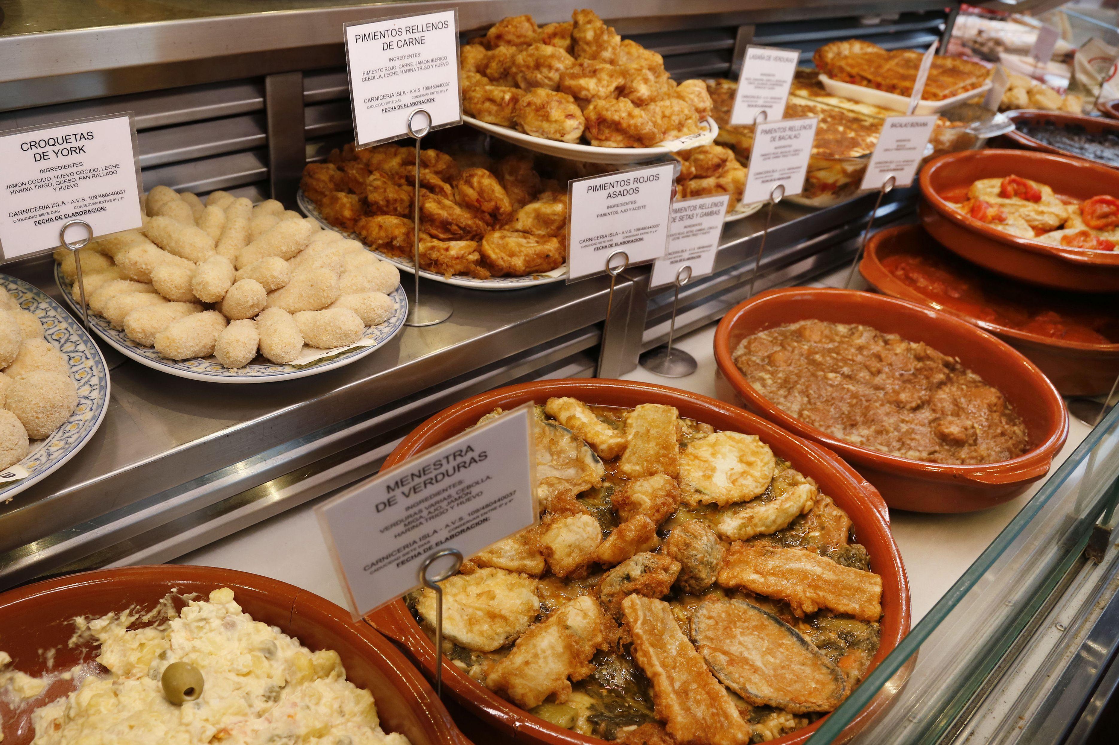 Comida preparada en Santa María de Gutxo