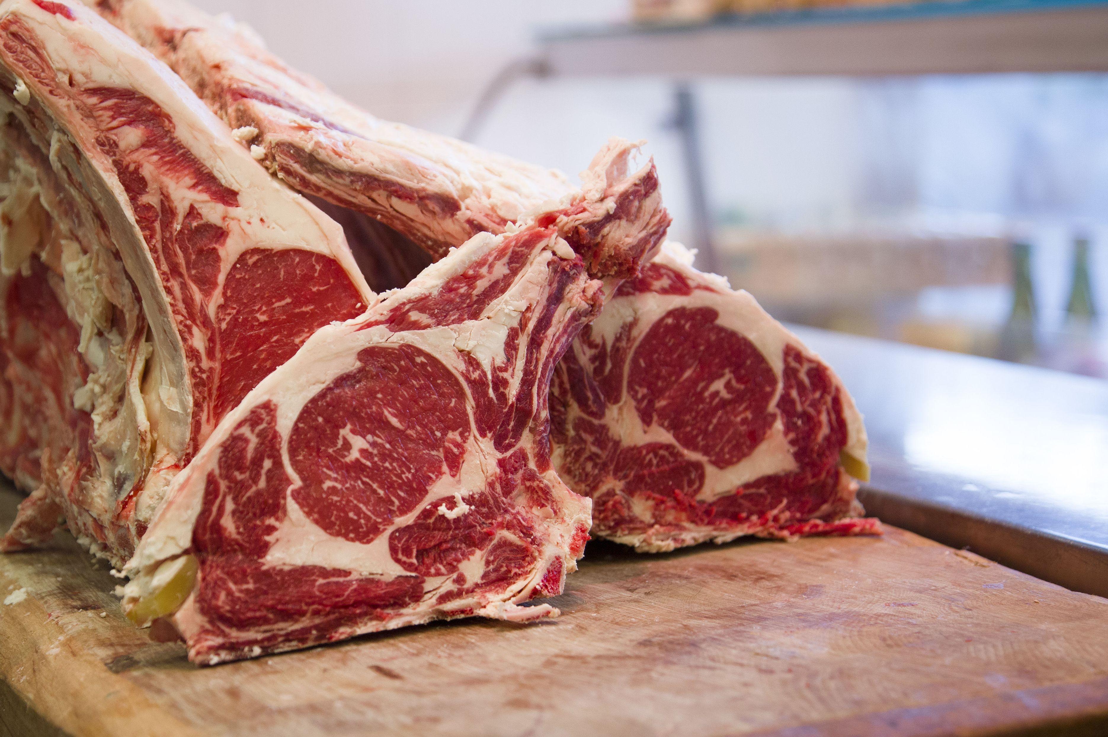 Auténtica carne de buey en Carnicería Isla, Santa María de Getxo