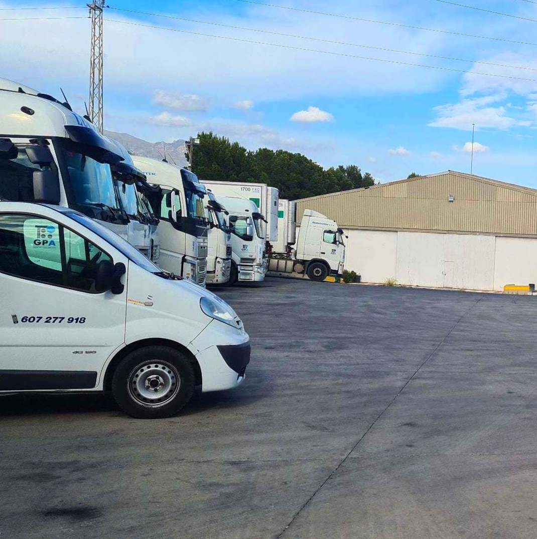 Foto 5 de Cemento en  | Transportes Ciudad de Alhama