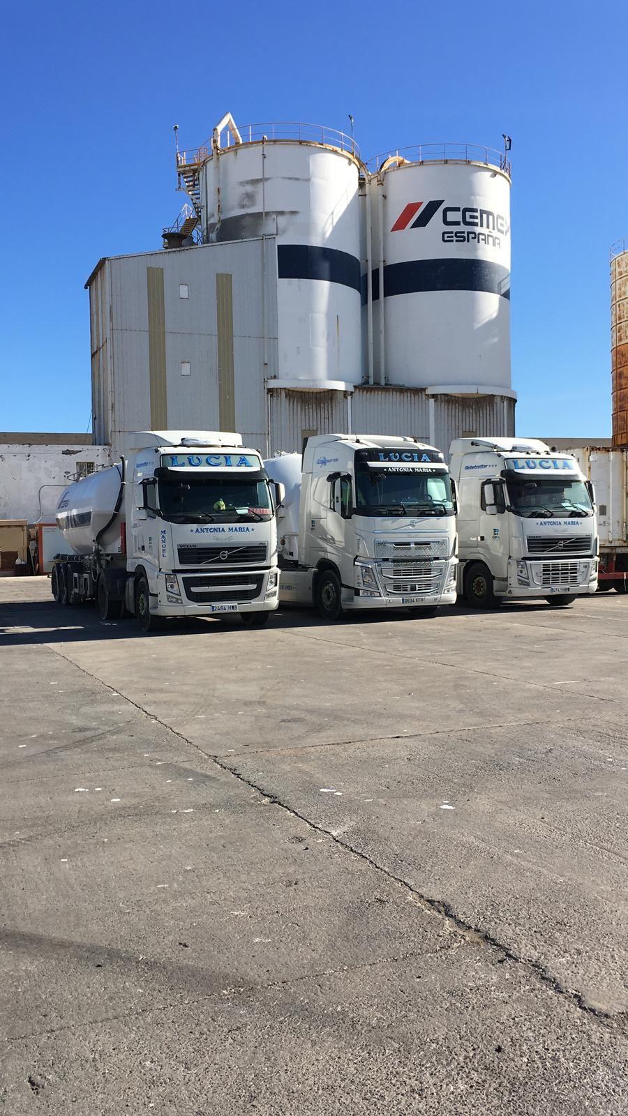 Transporte de cementos Almería