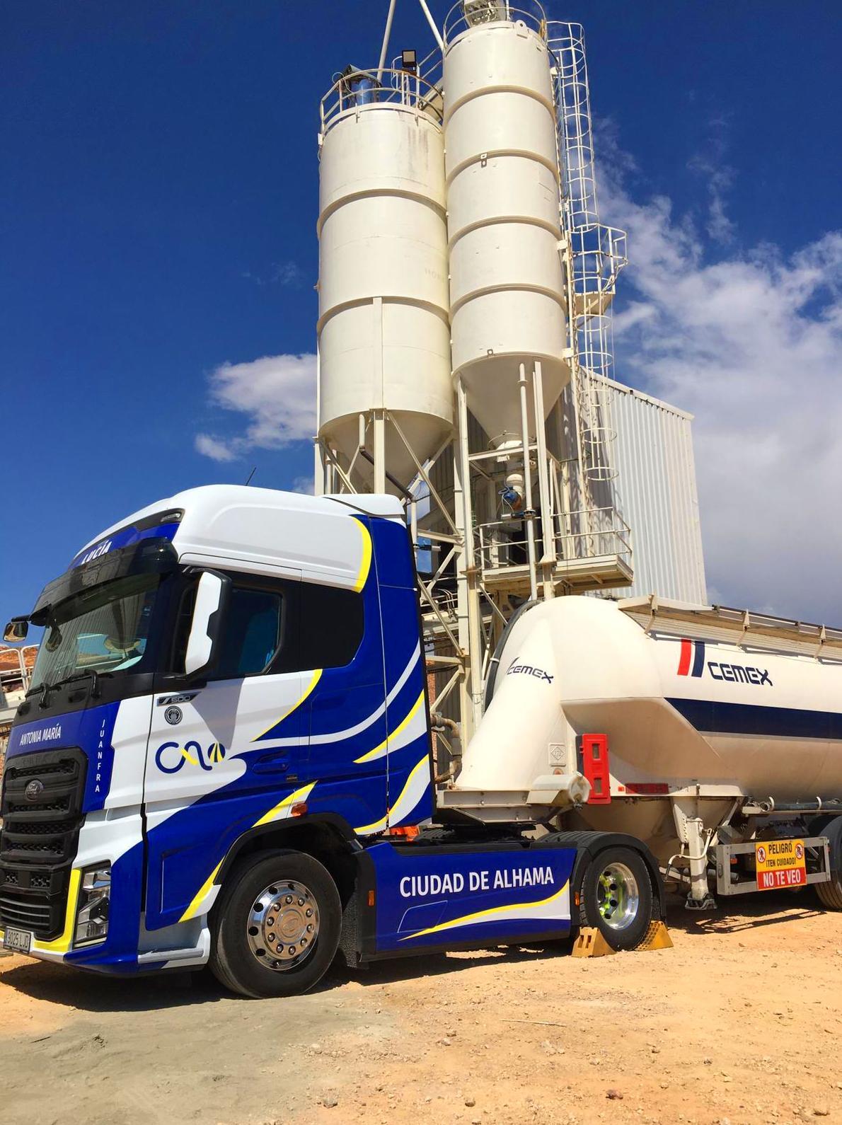 Foto 5 de Cemento en    Transportes Ciudad de Alhama